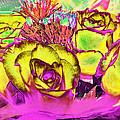 Rose Boquet Art by Debbie Portwood