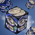 Rose Cube by Marianne Troia