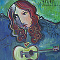 Roseanne Cash by Laurie Maves ART
