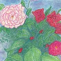 Roses In A Vase by Jami Cirotti
