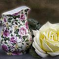 Roses Speak Of Romance by Kathy Clark