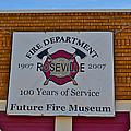 Roseville Fire Department Museum by Bill Owen