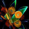 Rotating By Wind by Klara Acel