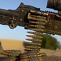 Rounds Of A M240 Machine Gun by Stocktrek Images
