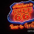 Route 66 Bar And Grill by Bob Christopher