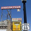Route 66 Canyon Club by Bob Christopher