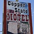 Route 66 Copper State Motel by Bob Christopher