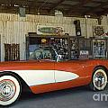 Route 66 Corvette by Bob Christopher
