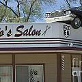 Route 66 Desotos Salon by Bob Christopher