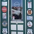 Route 66 Doorway by Bob Christopher