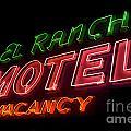 Route 66 El Rancho by Bob Christopher
