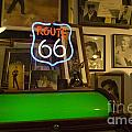 Route 66 Neon Sign 1 by Bob Christopher