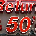 Route 66 Return To The 50s by Bob Christopher