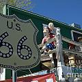 Route 66 Seligman Arizona by Bob Christopher