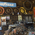 Route 66 Vintage Garage by Bob Christopher
