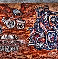 Route 66 Wall Art-3 by Tommy Anderson