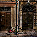 Rovinj Bicycle by Crystal Nederman