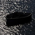 Row Boat In The Sun by Mark Valentine