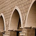 Row Of Arches by Holly Blunkall