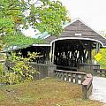 Rowell Covered Bridge by Wayne Toutaint