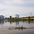 Rowing The Schuylkill by Bill Cannon
