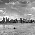 Rowing To Manhattan by Underwood Archives