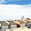 Rows Of Duplex Garages by Eddy Joaquim