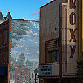 Roxy Theater And Mural by Ed Gleichman