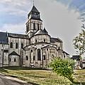 Royal Fontevraud Abbey by Sheila Laurens