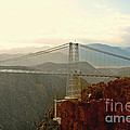 Royal Gorge Bridge Colorado - Take A Walk Across The Sky by Christine Till