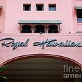 Royal Hawaiian Hotel Entrance Arch by Mary Deal