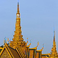 Royal Palace Roof. by David Freuthal