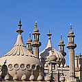 Royal Pavillion - Brighton England by Jon Berghoff