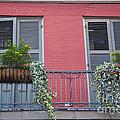 Royal Street Balcony by Leslie Leda