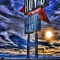 Roy's Motel Cafe by Christian Jelmberg