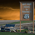 Rt 66 Towanda Signage by Thomas Woolworth