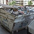 Rubbish In A Skip by Mark Williamson
