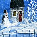 Rudolph by Sylvia Pimental