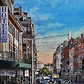 Rue De Metz In Toulouse by Robert W Cook