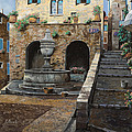 Rue Du Bresc A St Paul De Vence by Guido Borelli