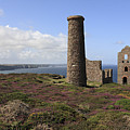Ruin Of Wheal Coates Tin Mine, Near St Agnes by Anthony Collins