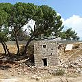 Ruined Castle by Munir Alawi