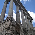 Ruined Columns by Angela  Rose