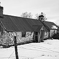 Ruined Cottage In Snow by Howard Kennedy