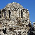 Ruins Of Byzantine Basilica Alanya Castle Turkey by Matthias Hauser