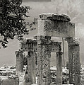 Ruins Of Hierapolis by Waldek Dabrowski