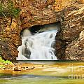 Running Eagle Falls by Greg Norrell