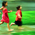 Running In The Rain by Joel Lau