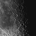 Rupes Recta Ridge And Craters Pitatus by Phillip Jones