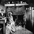 Rural Couple Eating, C1899 by Granger